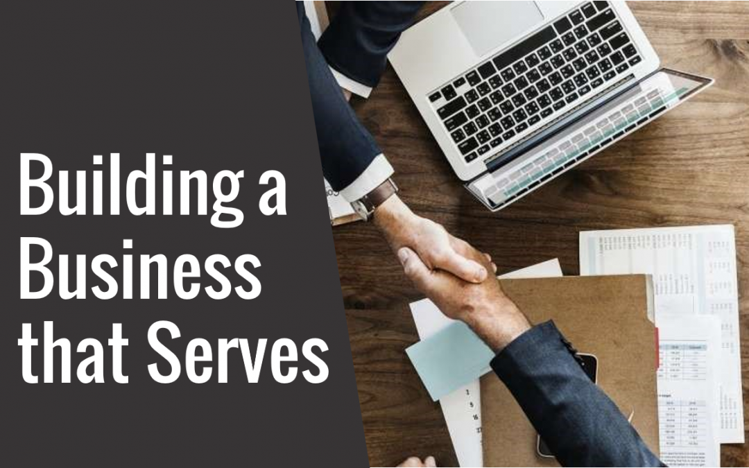 18: Building a Business that Serves – Interview with Nick Frost