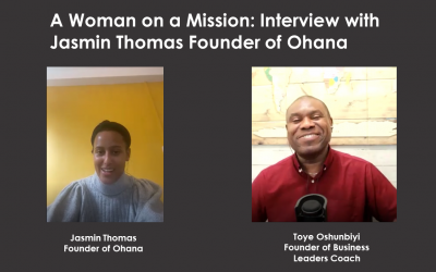 A Woman on a Mission: Interview with Jasmin Thomas Founder of Ohana